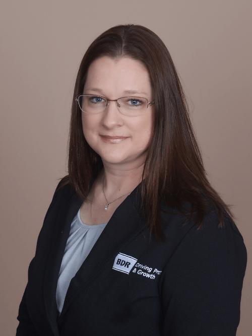 BDR Financial Coach, Shayera Hutchings.