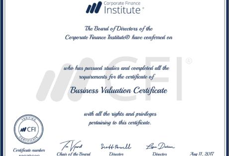 Matt Certification