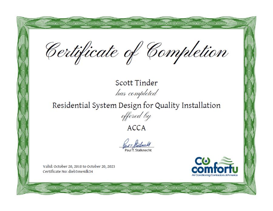 scott certificate.